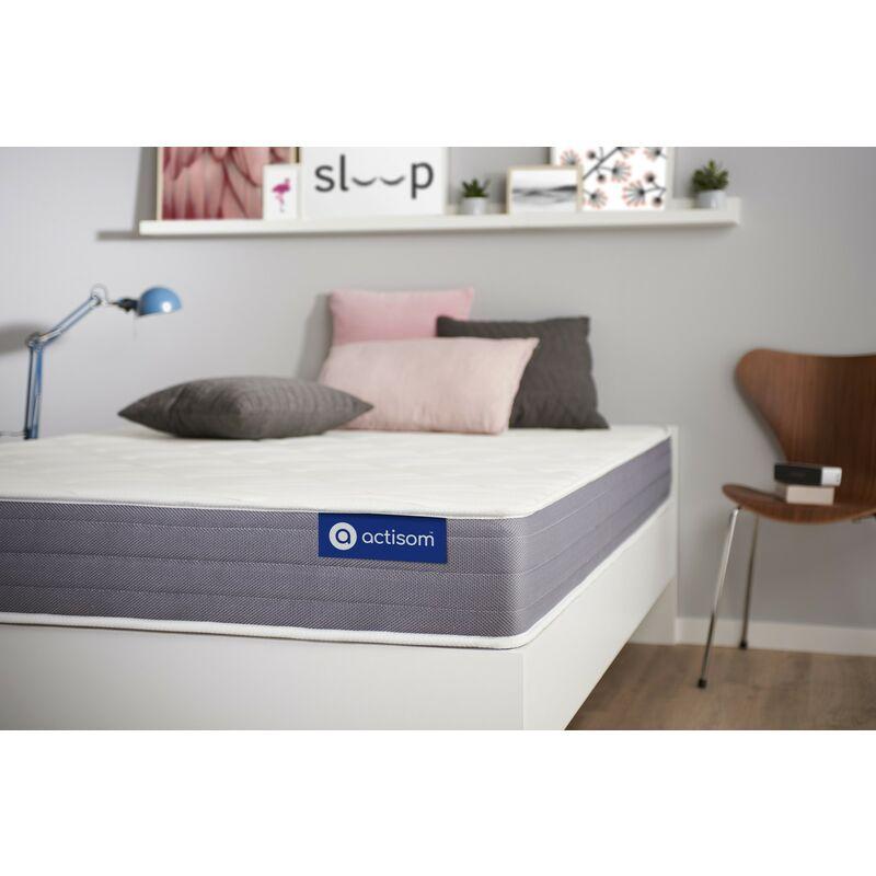 Actisom - Actimemo dream matratze 70x210cm, Dicke : 22 cm, Memory-Schaum, Irgendwie fest, 5 Komfortzonen, H3