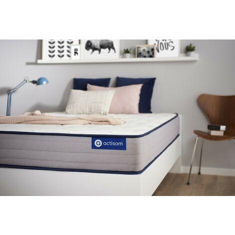 Actimemo form matratze 90x200cm, Memory-Schaum, Härtegrad 4, Höhe : 22 cm, 5 Komfortzonen