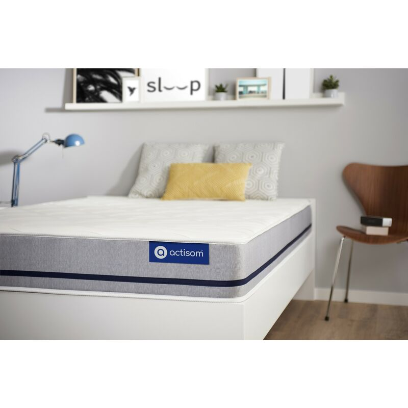 Actisom - Actimemo soft matratze 90x200cm, Dicke : 20 cm, Memory-Schaum, Irgendwie fest, 3 Komfortzonen, H3