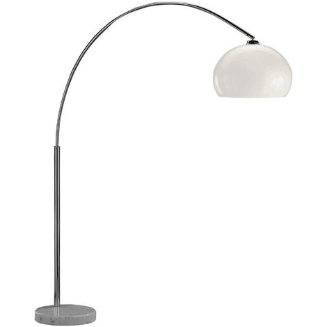 Action Bow Floor Lamp