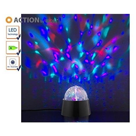 Action Lampe TablePlastique3 De ADisco X 879101106000 By Wofi WIntégréNoir9 Cm n0Nwm8v