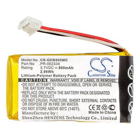 Action camera battery 3.7V 800mAh - PR-062334,PR 062334,PR062334