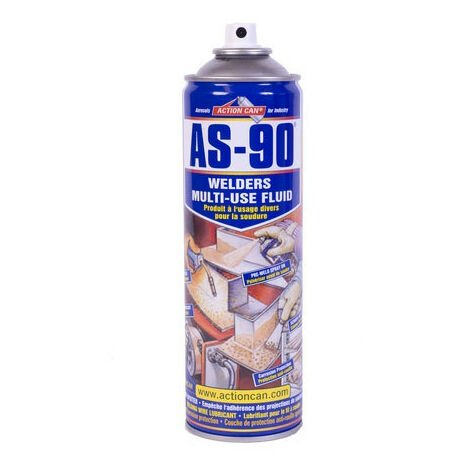 ACTION CAN AS-90 Welders Anti Spatter Multi Use Fluid 400gm Aerosol PACK OF 5