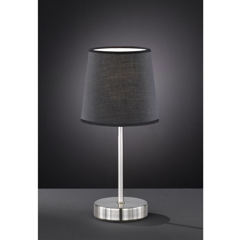 Image of Action Cesena Table Lamp Light Brown Shade