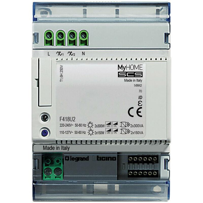 Legrand bticino//actionneur-Ax-commande 1 Relais 2 mod