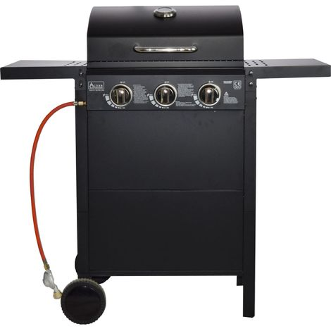 ACTIVA Grill Gasgrill 3 Brenner je 2,7 KW
