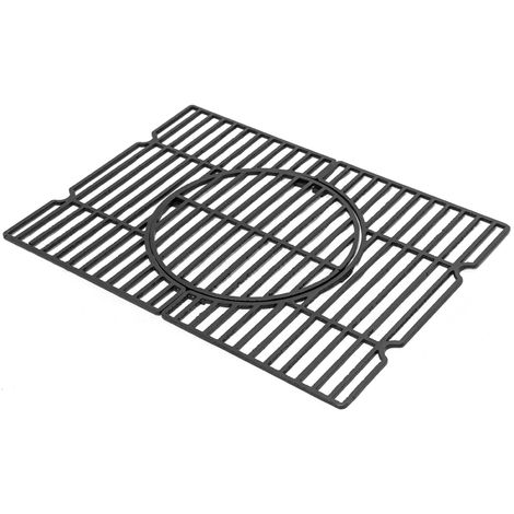ACTIVA Grill Grillrost Rost Angular Gusseisen 56,5 cm x 41,5 cm
