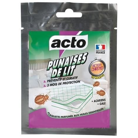"""main image of """"ACTO - Insecticide punaises de lit et acariens - plaquette"""""""