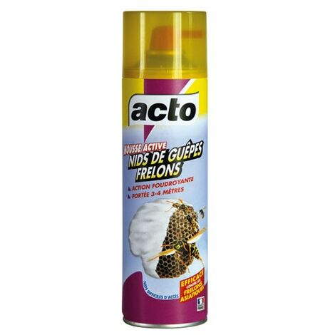 ACTO MOUSSE ACTIVE NID GUEPE 500ML (Vendu par 1)