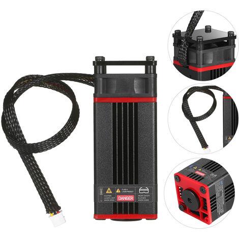Actualiza corte Modulo laser 30W laser de 450 nm Cabeza Azul Lase Para laser laser de la maquina CNC de madera DIY Marcado herramienta de corte, rojo, 30W