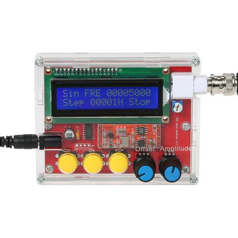 AD9833 alta precision generador de senal de DIY Kit, salida 1 ~ 10000Hz