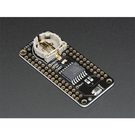 Adafruit 3028 DS3231 RTC Real Time Clock FeatherWing I2C For All Feather Boards