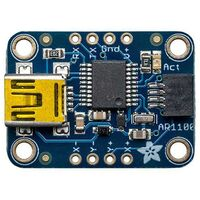 Adafruit Resistive Touch Screen to USB Mouse Controller - AR1100 1580 1 pc(s)