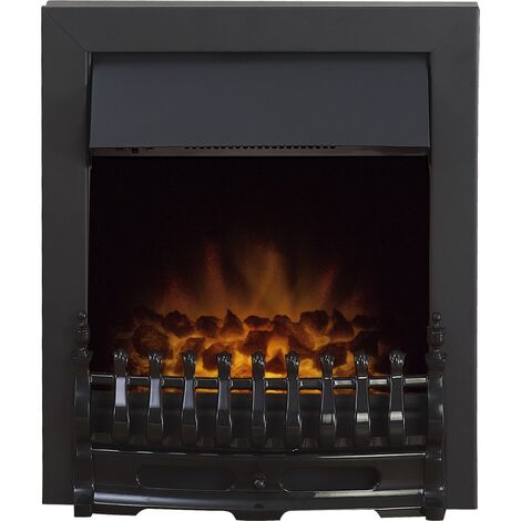 Adam Blenheim Electric Fire in Black
