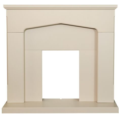 Adam Cotswold Fireplace in Stone Effect, 48 Inch
