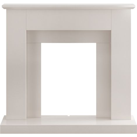 Adam Fareham Fireplace in Stone Effect, 39 Inch