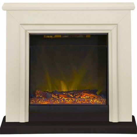 Adam Kensington Surround Fireplace Stove Fire Heater Heating Suite Flame Stone