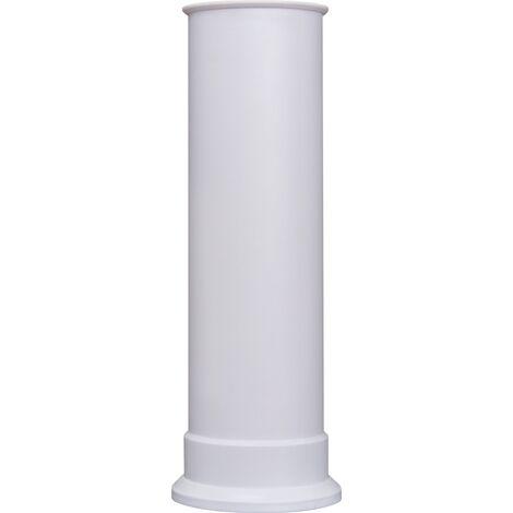 Adam Straight Stove Pipe in White