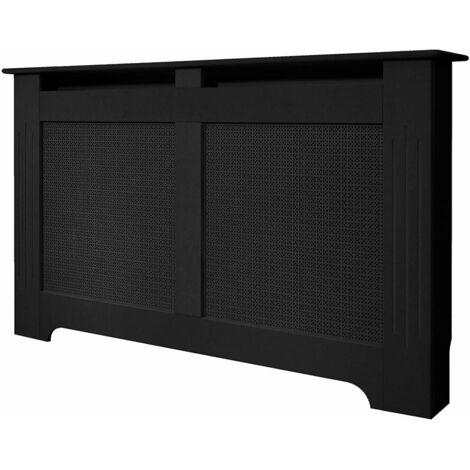Adam The Burford Radiator Cover in Black, 1600mm