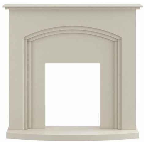 Adam Truro Fireplace in Cream, 41 Inch