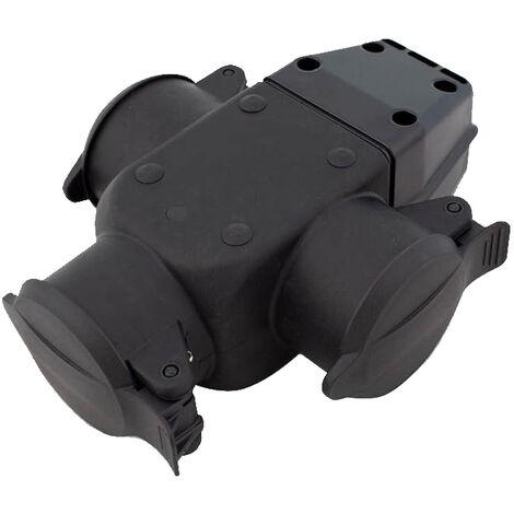 Adapatador múltiple de goma con TTL (F-Bright 1000152)