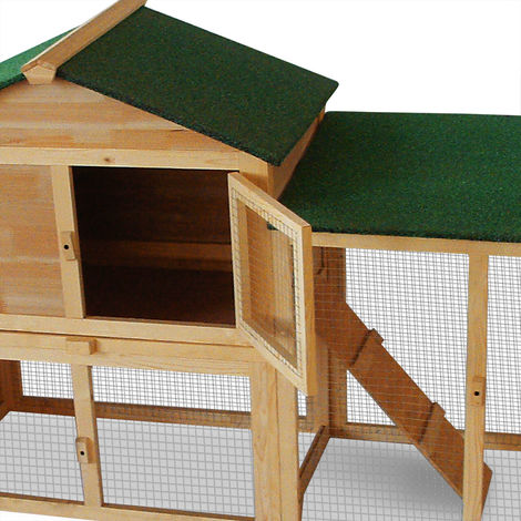 Adaptable Rabbit Hutch Rabbit Cage Removable Drawer Rodents Cage