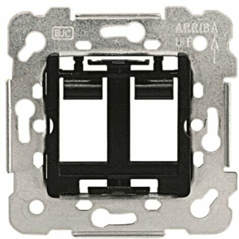 Adaptador 2 conectores RJ11-RJ45 BJC Iris 19682-1