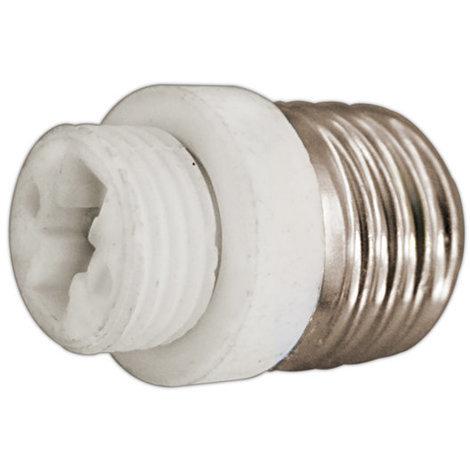 Adaptador bombillas E27 a G9 cerámico 2A/250V Electro DH. 12.101 8430552138869