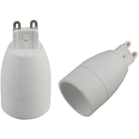 Adaptador casquillo G9 a E14 (Electro DH 12.107)