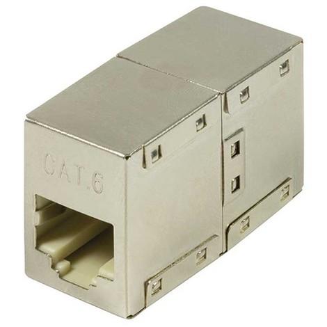 Adaptador Cat. 6 Rj45 Para Empalmar Dos Cables Rj45 - NEOFERR