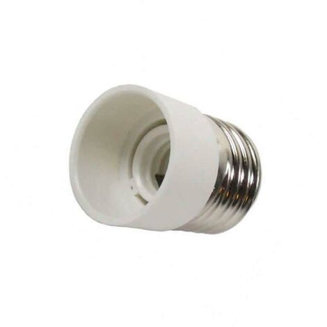 Adaptador / conversor para bombillas E14 a E27