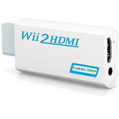 Adaptador conversor wii a hdmi con audio
