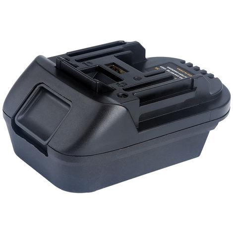 Adaptador convertidor de la bateria DM18M, por Makita 18V de iones de litio Power Tools