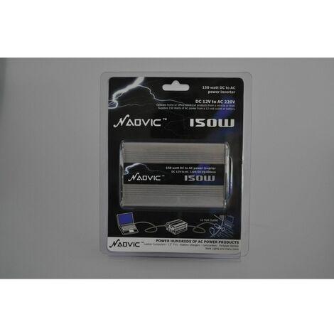 Adaptador corriente 12V-220V 150W para coche