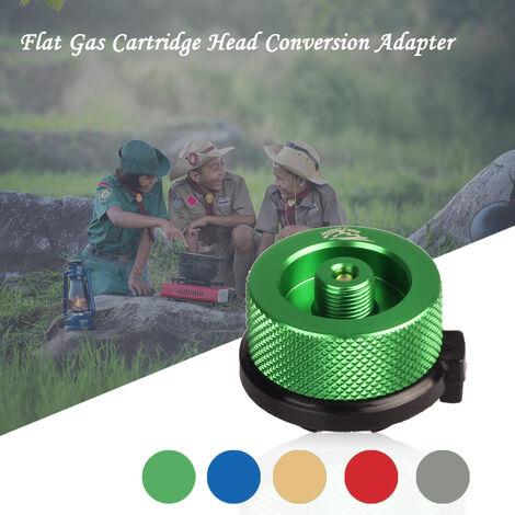 Adaptador de conversion de Tete De Gas Cartucho De Azul