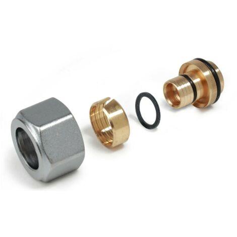 Adaptador de Giacomini compacto para tubería multicapa 16 20x2 R179MX020