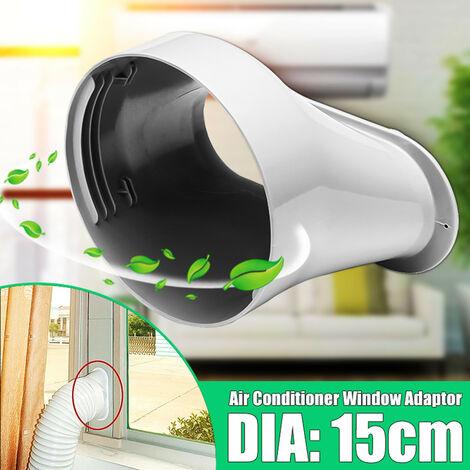 Adaptador de interfaz plana de ventana DIA.15cm para Aire acondicionado portátil Aire acondicionado Portátil Mohoo
