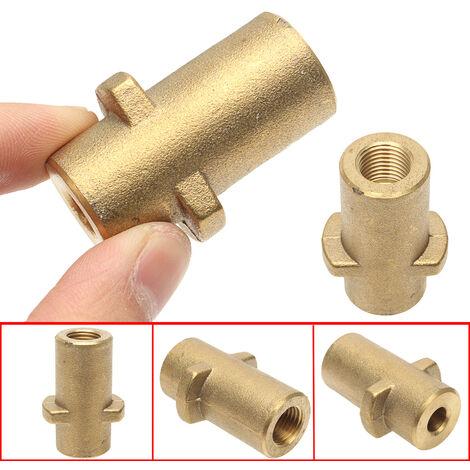 Adaptador de lanza de espuma de latón para lavadora a presión Compatible con la serie K de Pr Karcher