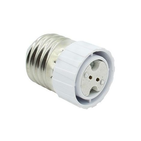 Adaptador E27 a MR16 Blanco