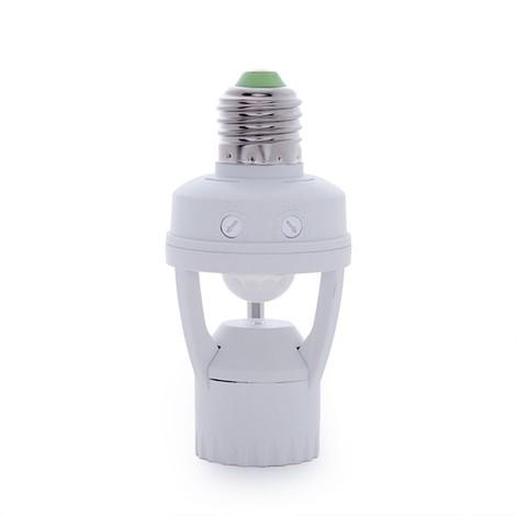 Adaptador E27 Detector de Proximidad - Sensor Crepuscular (SKY-YCB1060)