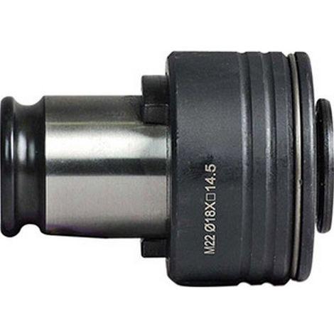 Adaptador FES para portabrocas - cambio rápido FES3, Ø d : 20 mm, 4 lados 16 mm, DIN 371 -, DIN 376 : M27