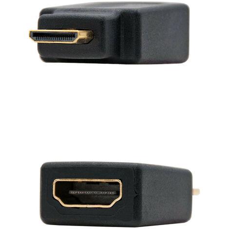 Adaptador HDMI Hembra A MiniHDMI Macho