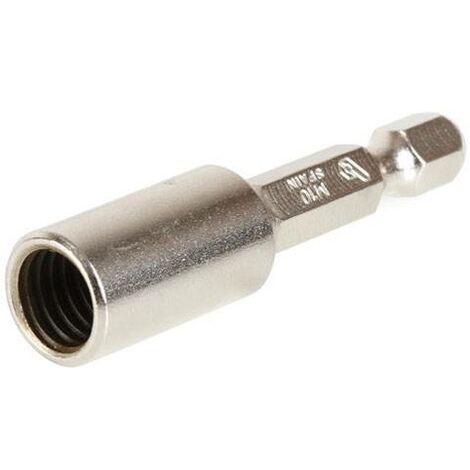 Adaptador M10X50Mm Para Varilla Roscadatornillo Doble Rosca