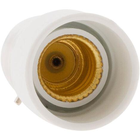 Adaptador para bombillas - B22 a E14