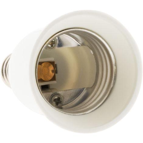 Adaptador para bombillas - E14 a E27