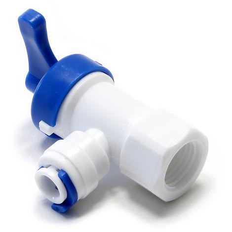 """main image of """"Adaptador para grifo ósmosis Hembra 12,5mm Bypass Válvula de tanque Equipo filtración de agua"""""""