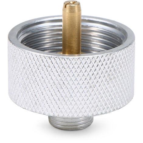Adaptador Para la estufa que acampa de tete conversion del deposito de gas propano