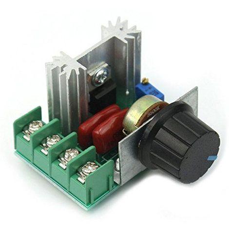 Adaptador regulador de velocidad del motor de CA