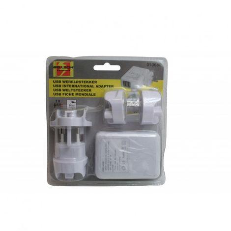 Adaptador USB Internacional 5 habitaciones