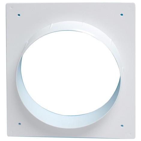 Adaptateur 192x214mm pour grille d'aération sur tube Ø200mm